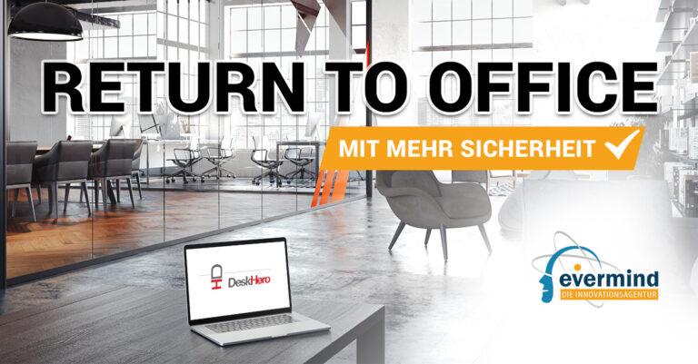 Desk Hero Plattform für Brüroplätze Management